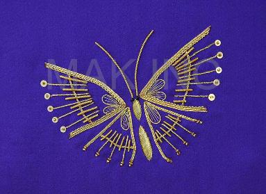 Aubergine Butterfly